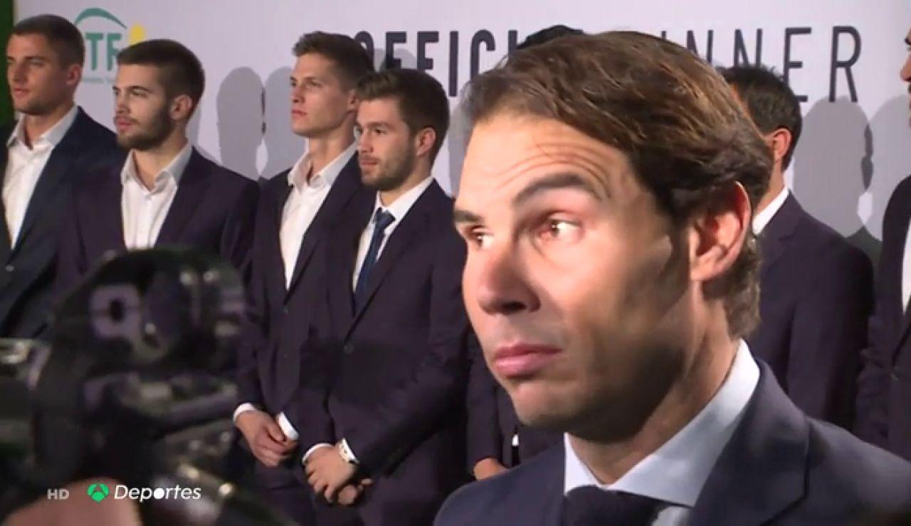 Nadal valora el nuevo formato de la Copa Davis
