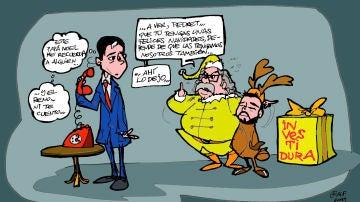 Las conversaciones de ERC y PSOE, en la viñeta gráfica de la semana