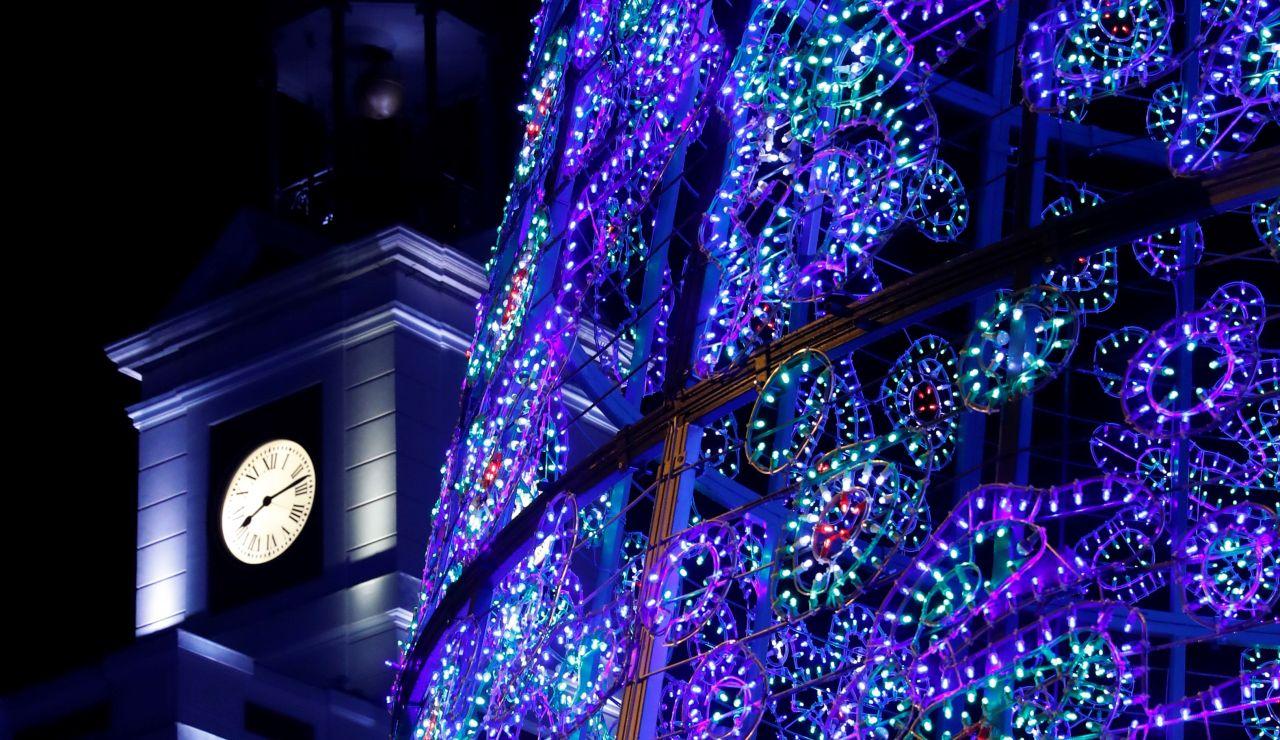 Luces navideñas en Madrid