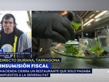 Hacienda embarga el restaurante a un independentista que decidió pagar sólo impuestos catalanes