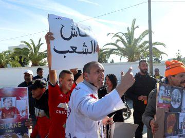 Protestas por la condena de un rapero en Marruecos