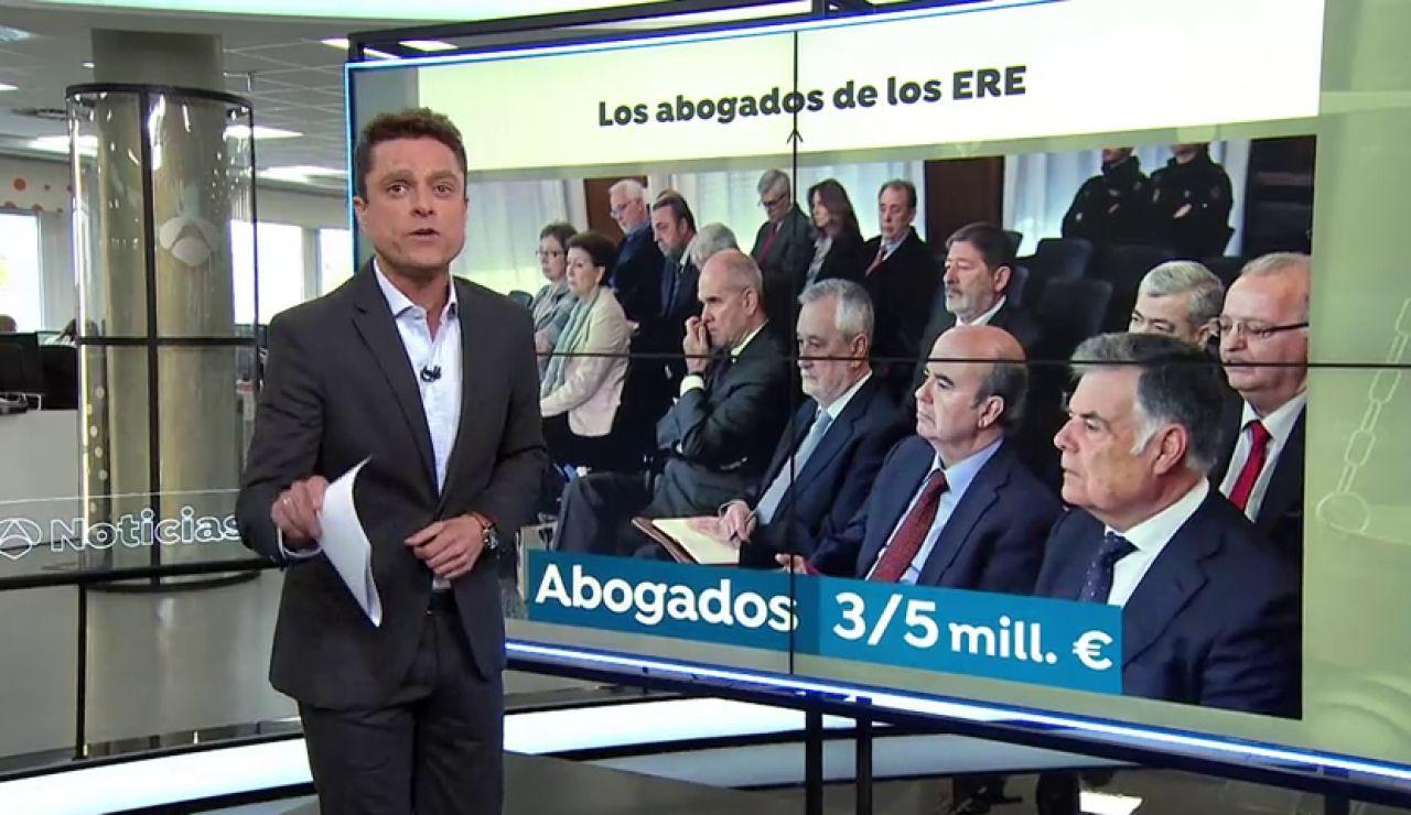 La Junta reclamará por vía civil el dinero malversado en los ERE