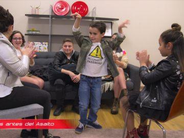 El equipo de Rosario Flores se prepara para el último Asalto de 'La Voz Kids' al ritmo de 'Sarandonga'