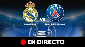 Real Madrid - PSG: Partido de hoy y resultado, en directo | Champions League