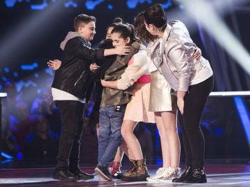 Daniel García, Chavito, Paloma Puelles y Paola Casas pasan a la Semifinal de 'La Voz Kids'