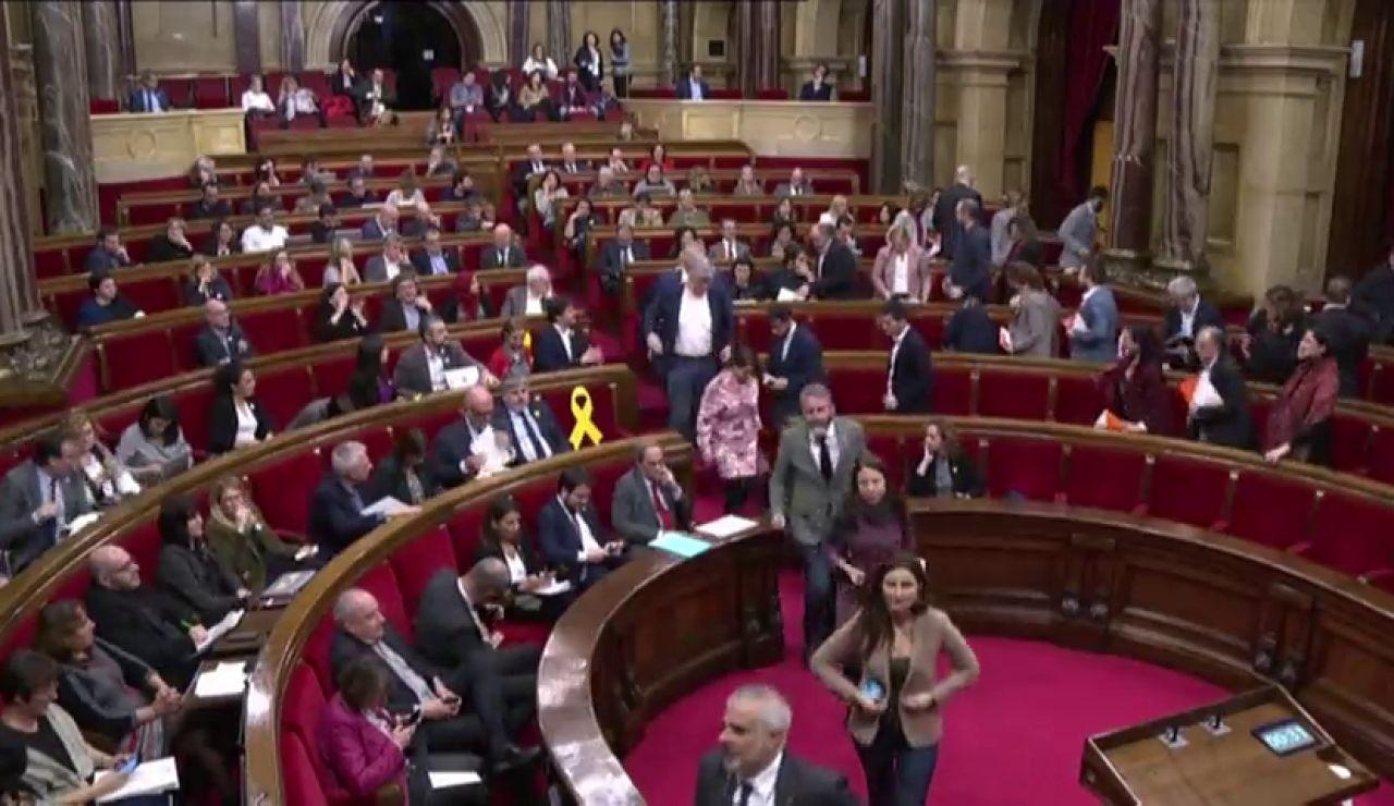 Los independentistas vuelven a desafiar al Constitucional en el Parlament