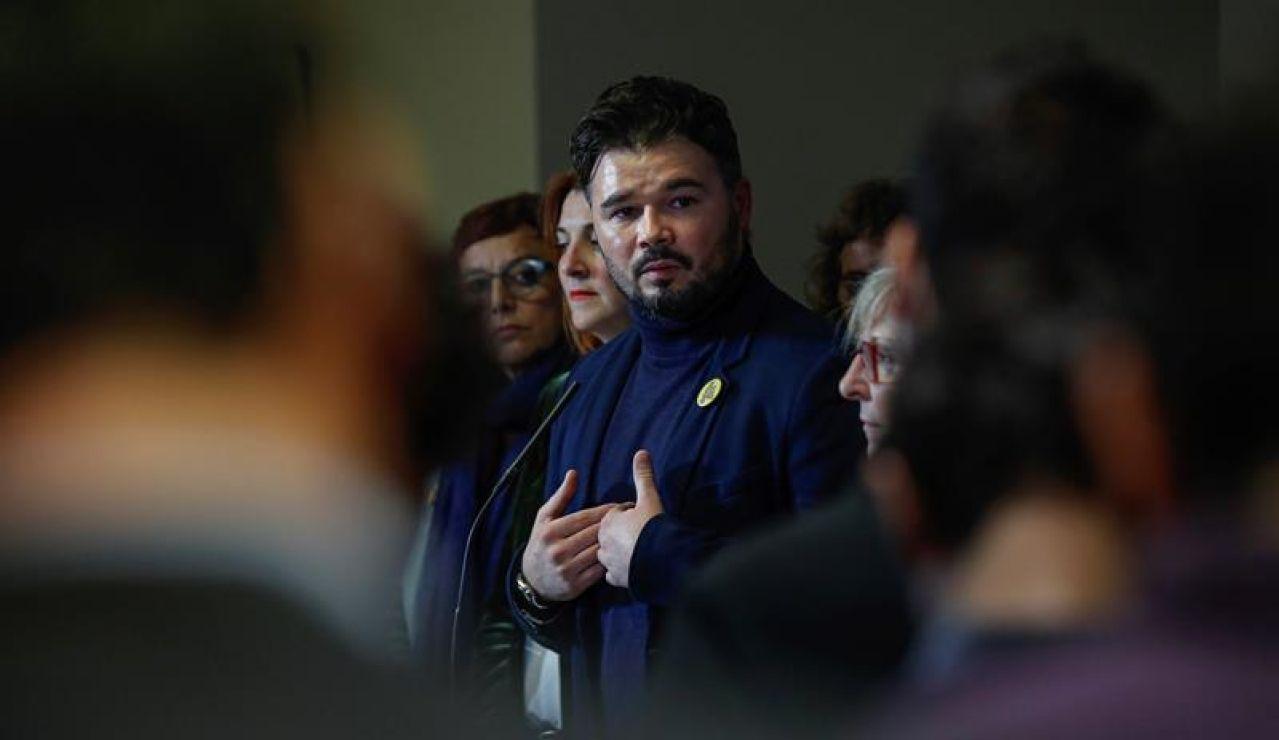 Gabriel Rufián en el Congreso