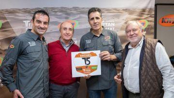 Miguel Indurain, uno más en la Titan Desert