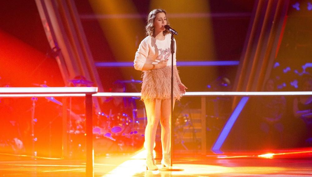 Laura Valle canta 'I will be' en los Asaltos de 'La Voz Kids'