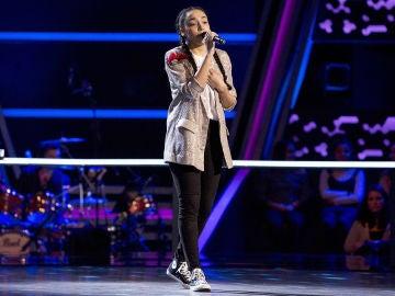 Aysha Bengoetxea canta 'If ain't got you' en los Asaltos de 'La Voz Kids'