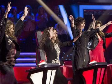 Vanesa Martín y Rosario Flores escogen a sus semifinalistas