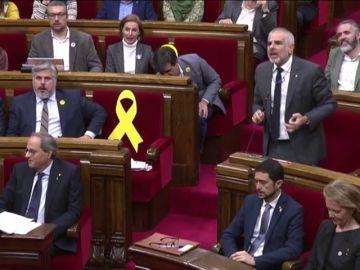 Acusaciones de corrupción y machismo en el Parlamento catalán