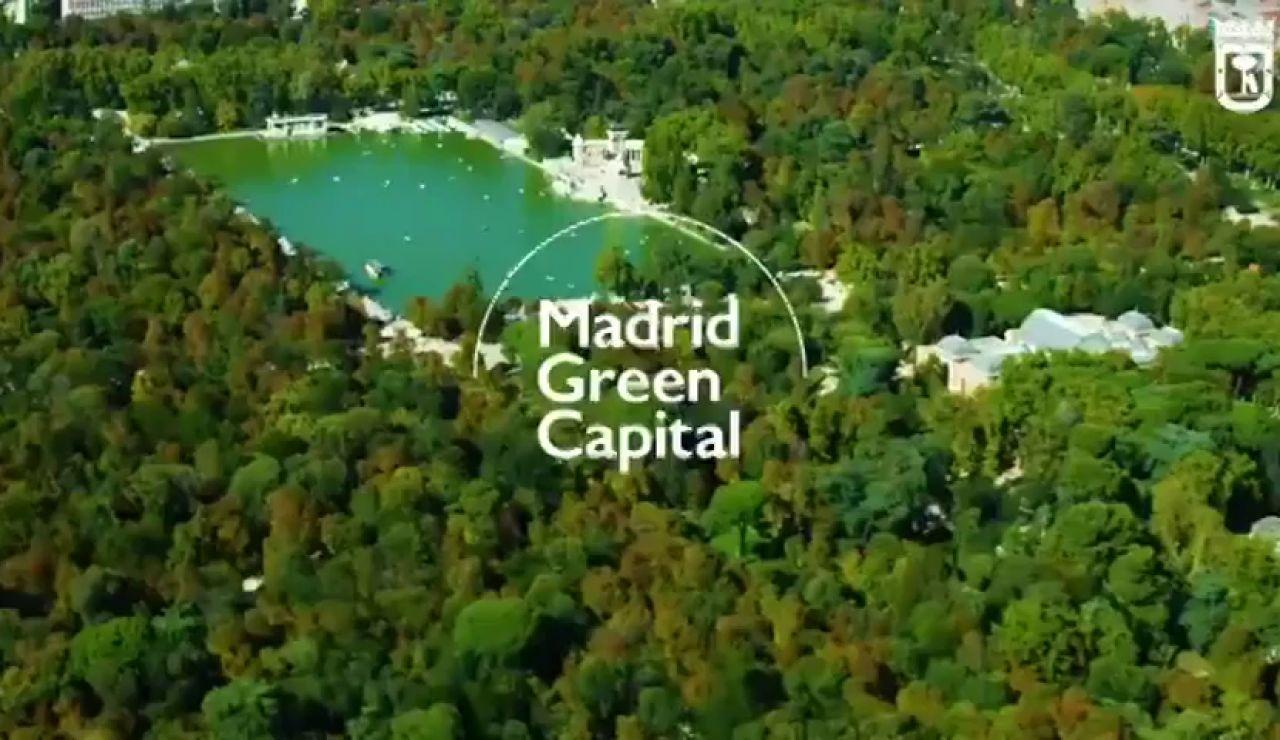 """El lema """"Green Capital"""", un premio de la UE que Madrid usa como eslogan de la Cumbre del Clima"""