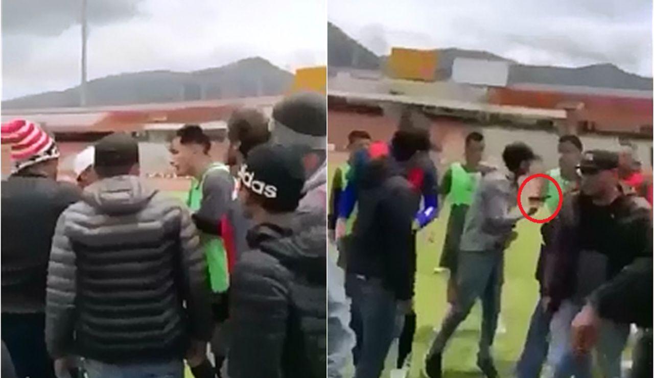 Un grupo de delincuentes armados amenazan a los jugadores del Sport Huancayo
