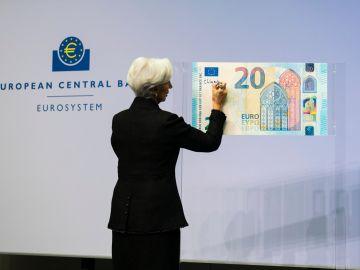 Los primeros euros firmados por Lagarde entrarán en circulación en la segunda mitad de 2020