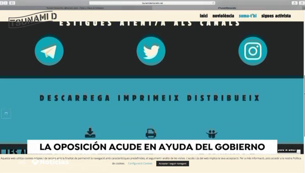 REEMPLAZO PP y Ciudadanos salvan el decreto del Gobierno contra la república digital catalana
