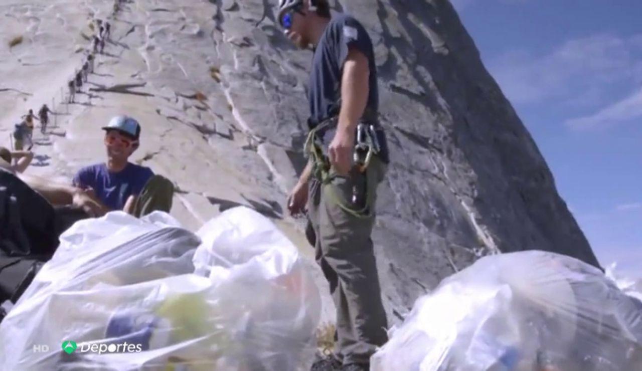 Yosemite, otra meca de la escalada amenazada por la masificación turística