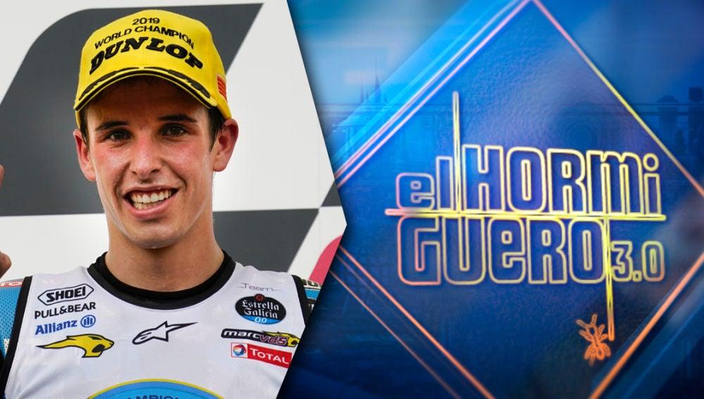 El miércoles recibimos en 'El Hormiguero 3.0' a Álex Márquez, campeón del mundo de Moto 2