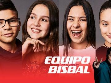 Salvador Bermúdez, María Expósito, Alba Aguilar e Irene Gil
