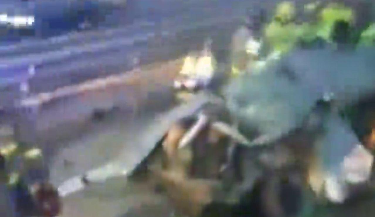 Un kamikaze muere y deja 14 heridos al chocar con seis vehículos en la AP-7 en Murcia