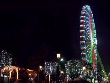 """Vigo estrena """"la mejor noria del mundo"""" para dar la bienvenida a la Navidad"""