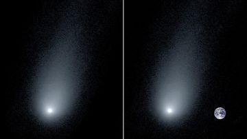 Fotografía del cometa interestelar 21/Borisov