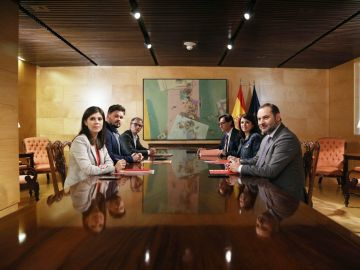Reunión PSOE-ERC