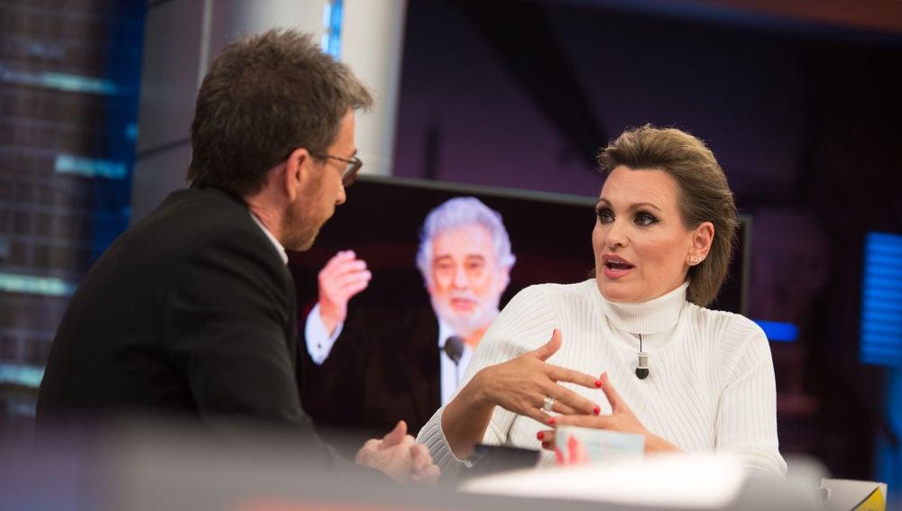 La contundente defensa de Ainhoa Arteta a Plácido Domingo en 'El Hormiguero 3.0'