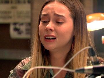 Luisita rompe en lágrimas tras leer la carta de Amelia