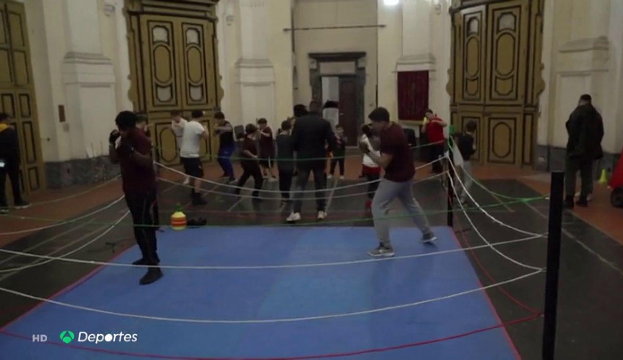 boxeo iglesia