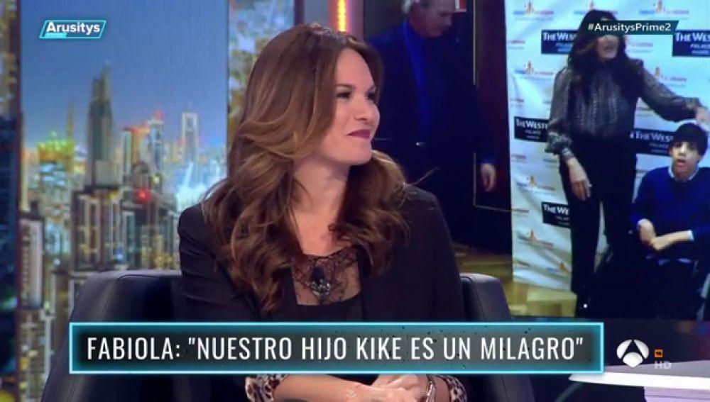 """Fabiola Martínez, en 'Arusitys Prime': """"Cuando nos decís 'supermamás', nos ponéis una mochila superpesada"""""""