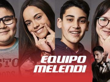 Alan Brizuela, Sara Gálvez, Julio Gómez y Sofía Esteban