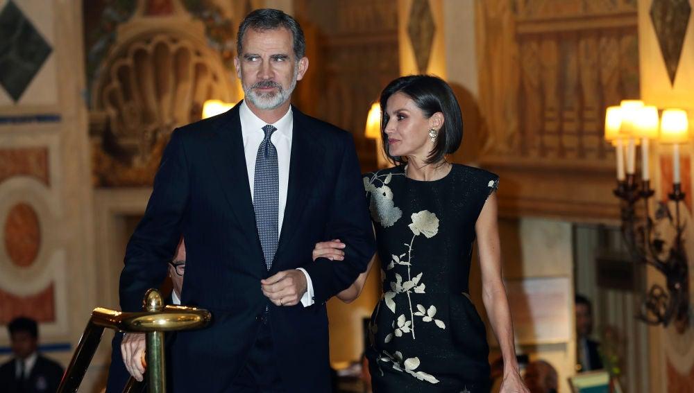 La reina Letizia y el rey Felipe VI