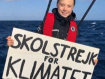 Día doce: 'Diario de a bordo' de Greta Thunberg