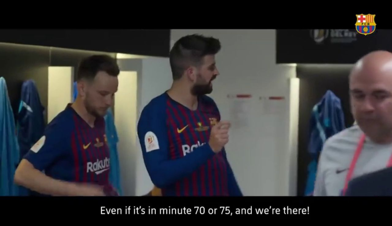"""Piqué, tras ganar en el Bernabéu al Madrid: """"Otro chorreo; es la costumbre, ya no hace gracia ganar aquí"""""""