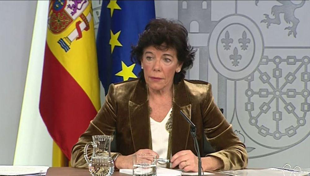 """El Gobierno acaba con la diferencia entre """"problema de convivencia"""" y """"conflicto político"""" en Cataluña"""