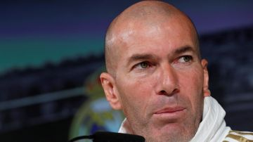 Zidane en la rueda de prensa previa al encuentro contra el Alavés