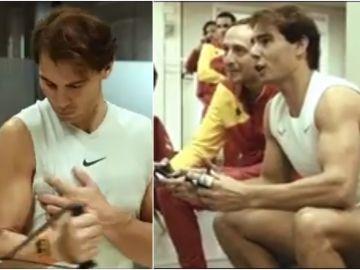 Imágenes inéditas de la victoria de España