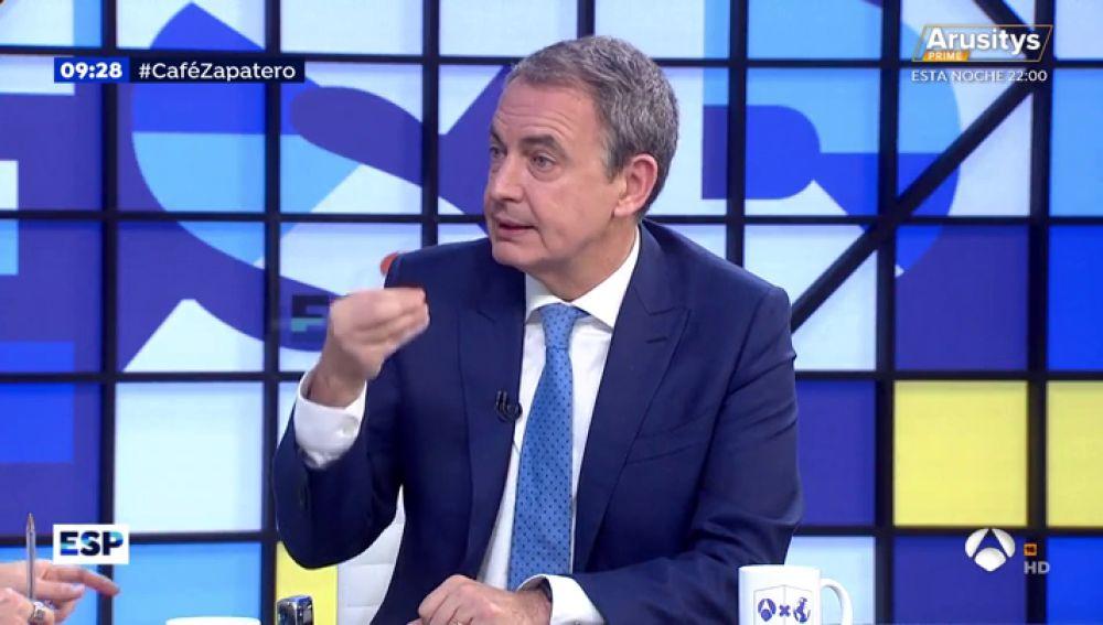 José Luis Rodríguez Zapatero.
