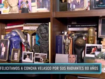 Concha Velasco revela en 'Arusitys Prime' el lugar favorito de su casa