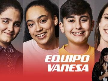 Isabel Marsal, Aysha Bengoetxea, Marcos Díaz y Patricia García