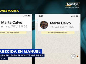 Desaparición Marta Calvo.