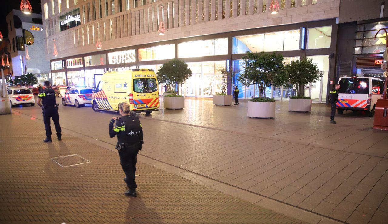 Ataque con cuchillo en La Haya