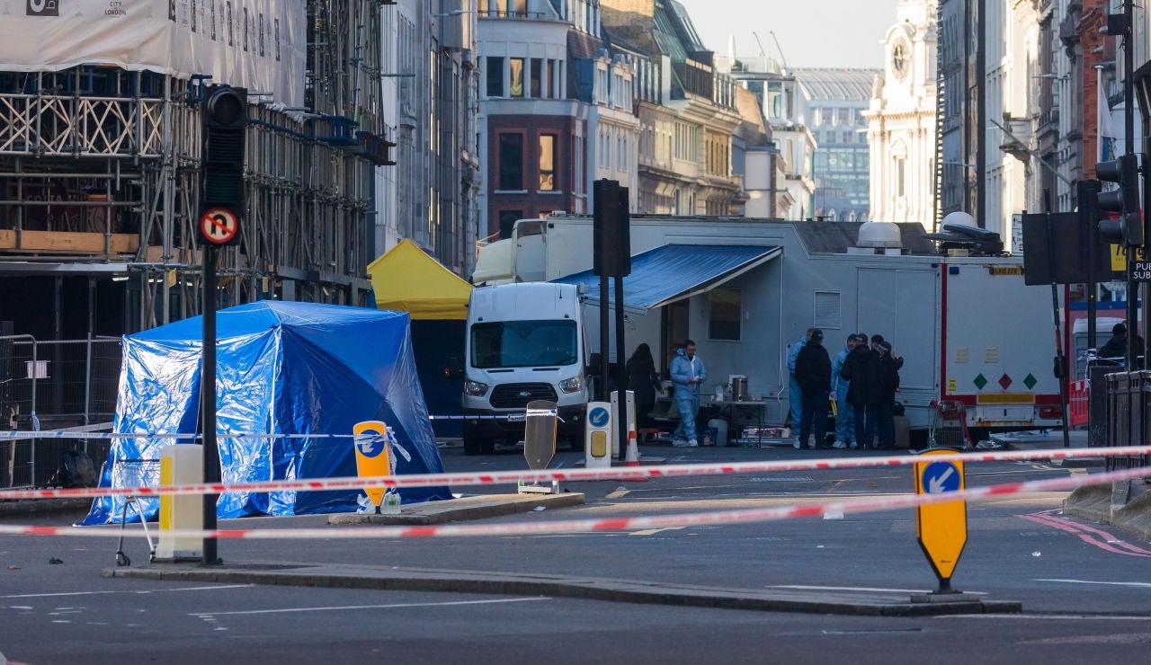 Lugar donde se produjo el ataque de Londres