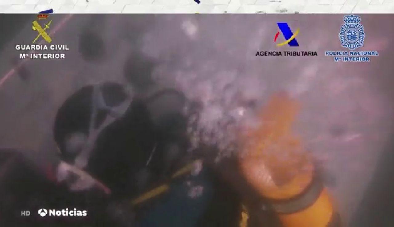 Detenido el tercer tripulante huido del narco submarino