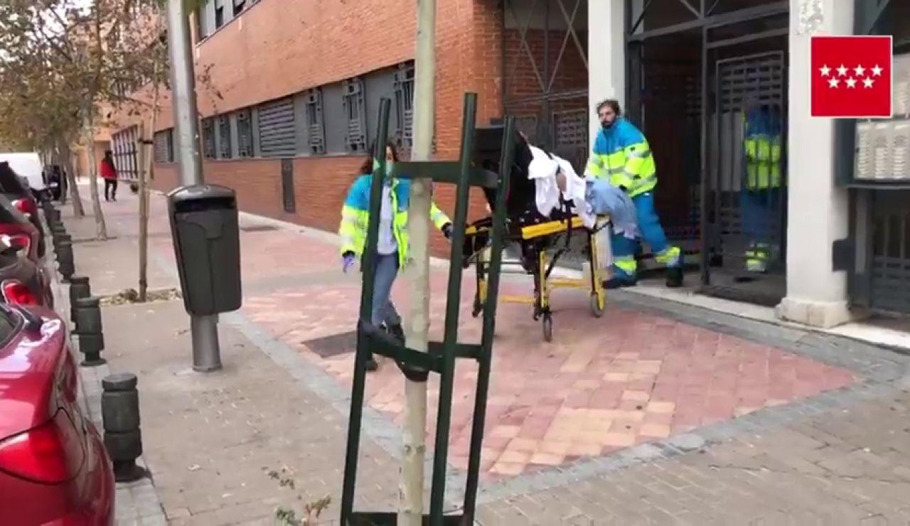 Apuñalan a una joven de 24 años en su casa de Madrid