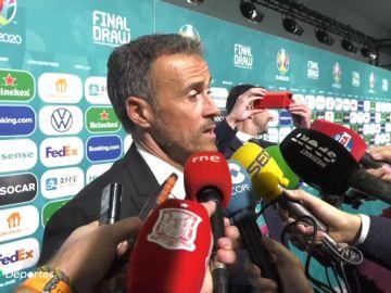 """Luis Enrique: """"¿Robert Moreno? No he venido aquí a jugar al tenis"""""""