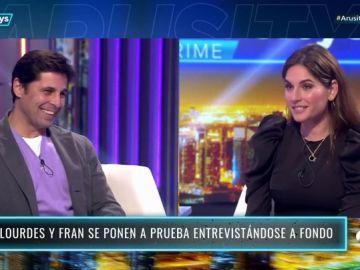 """Lourdes Montes relata en 'Arusitys Prime' el comienzo de su relación con Fran Rivera: """"Mi madre no quería conocer a Fran"""""""