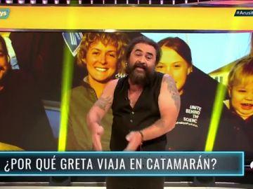 El Sevilla reflexiona en 'Arusitys Prime' sobre el porqué Greta Thunberg viaja en catamarán a España