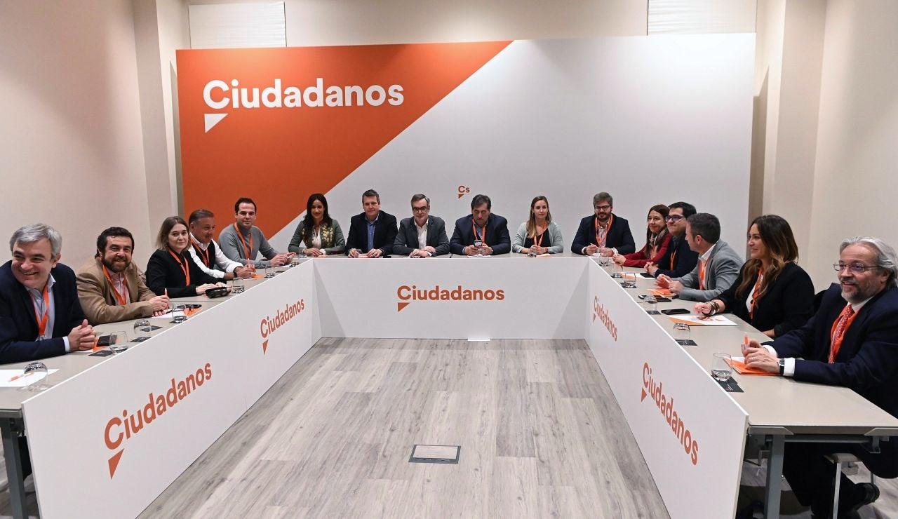 Los miembros de la nueva gestora de Ciudadanos